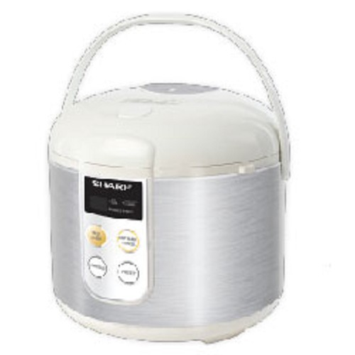 SHARP Rice Cooker Touch Panel Stainless [KS-T18TL] - Rice Cooker